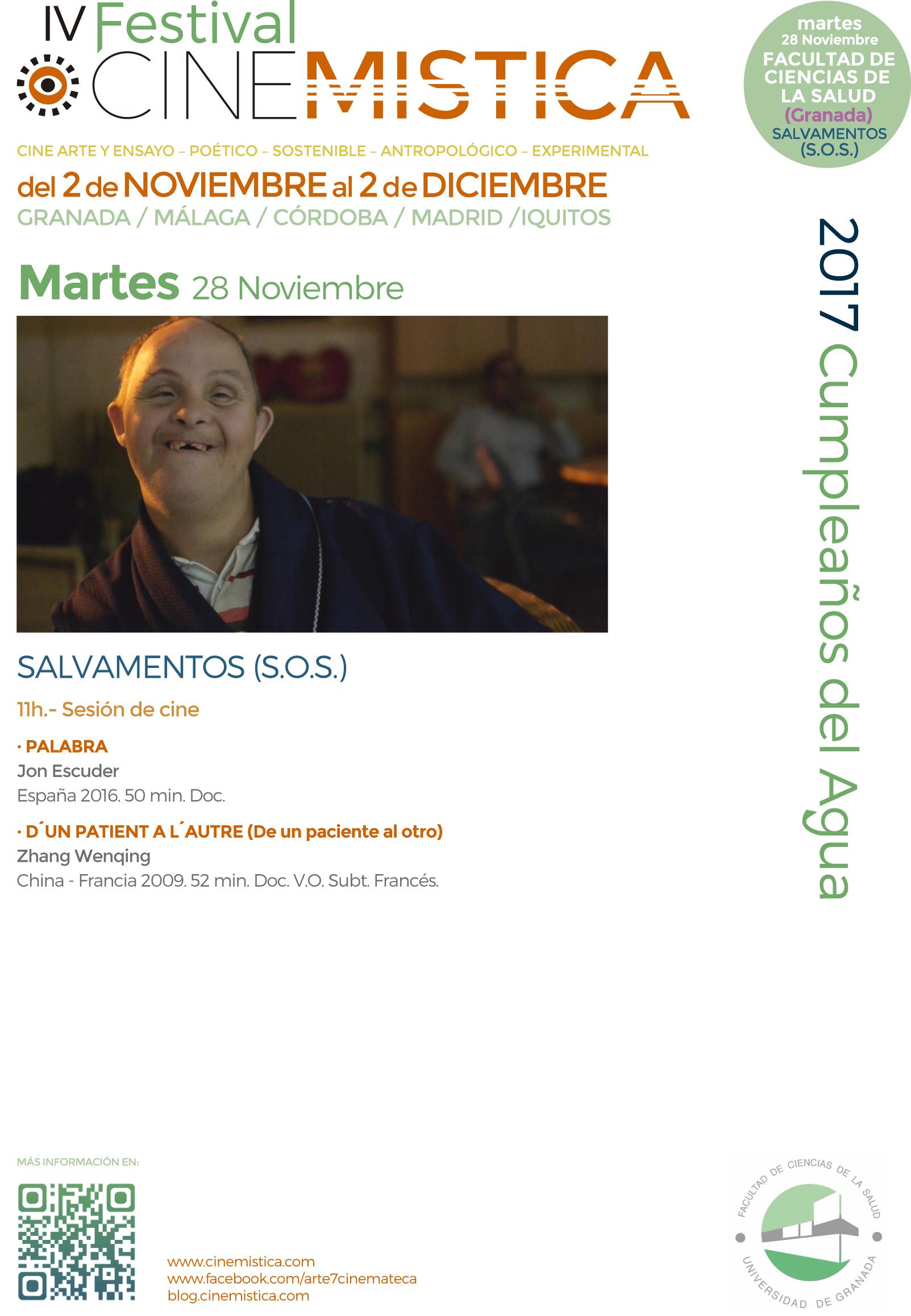 26. Programa Martes 28. Facultad Salud